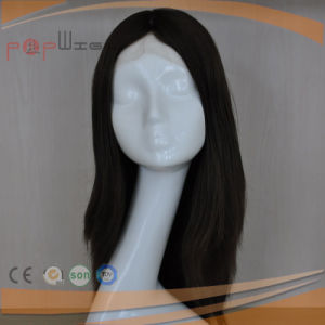 Human Remy Virgin Hair Skin Top Hand Tied Lace Women Wig pictures & photos