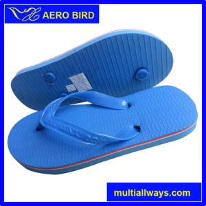 2016 Pure Color PVC Sole Unisex Slipper Sandal (13L063) pictures & photos