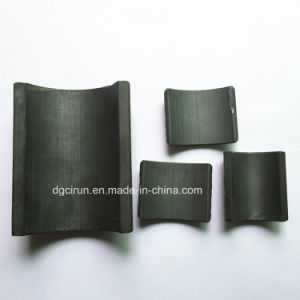 Custom Shape and Size Ferrite Motor Magnets pictures & photos