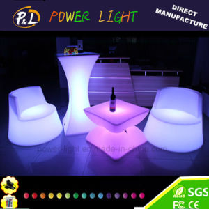 Modern Outdoor Lit Glowing Party Event LED Bar Furniture Square Table pictures & photos