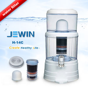 Flat Lid Mineral Water Filter Pot with 14L pictures & photos