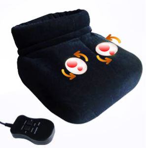 Electric Shiatsu Foot Warmer Massager with Kneading Rollers pictures & photos