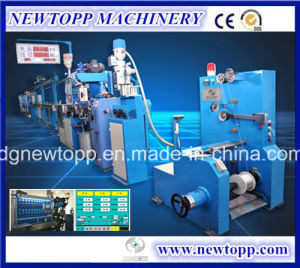 Xj-50+35mm Cable Extrusion Line for Chemical Foaming Cable pictures & photos