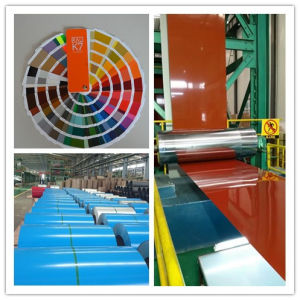 Nippon Lacquer 0.45mm Thickness Ral5015 Color Coated Steel Coil pictures & photos
