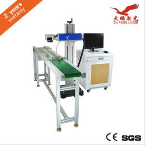 Quality CO2 Laser Marking Machine on The Fly Marking Machine pictures & photos