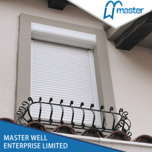 Roller Shutter Exterior Window/Rolling Shutter Window pictures & photos