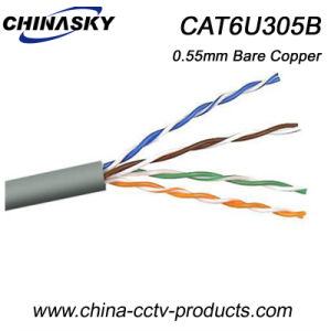 UTP Bare Cooper Ethernet Cable CAT6 (CAT6U305B) pictures & photos