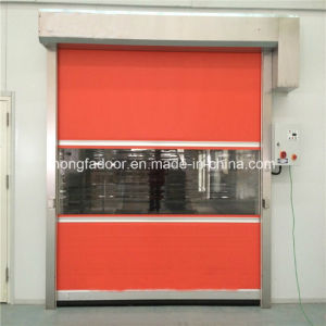 PVC Industrial Fabric High Speed Roll up Door with Ce Certification (HF-K05) pictures & photos