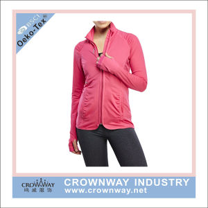 Latest Fashion Sport Loose Fleece Knit Jacket pictures & photos