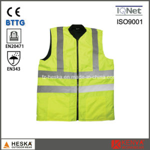 Mens Padding Hivis Waistcoat Reversible Bodywarmer pictures & photos