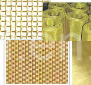 Red/Brass Copper Wire Mesh with Over 30 Years′ Experience pictures & photos