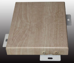 Aluminum Wood Grain Panel/ Aluminum Wood Surface Finish Panel