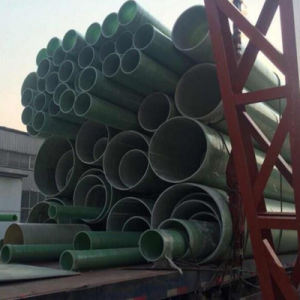 Fiberglass High Strength FRP Winding Cable Protection Pipe/GRP Ducts pictures & photos