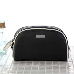 Cosmetic Bag Leather Toiletry Bag for Travel