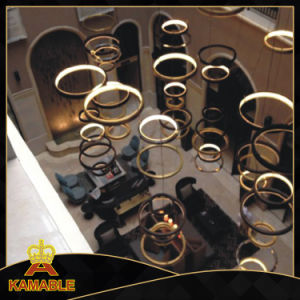Ring Stainless Steel Hotel LED Pendant Hanging Lamp (KAF6050) pictures & photos