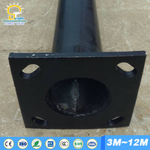 3.5mm Thickness Steel Pipe for 8m-10m Street Light Pole pictures & photos
