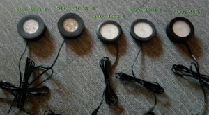 Ultra Slim Round 3W Wholesale Decorative Under Down Cabinet Light (SLCG-A003-1) pictures & photos