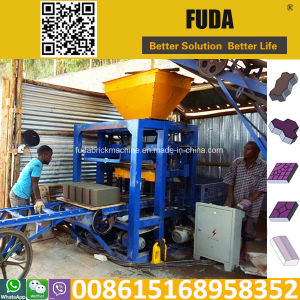 Qt4-24 Qt4-26 Manual Cement Block Making Machine Sales in Malawi Groupage Shipping in Guangzhou pictures & photos