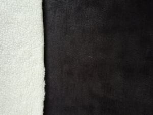Foil Suede Sherpa Fur Curly Fur Fake Fur Artificial Fur Faux Fur Fabric pictures & photos