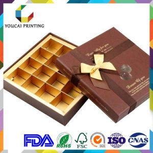 OEM Luxury Cardboard Gift Chocolate Box with Inner Tray pictures & photos