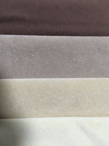 Single Flock Fabric for Sofa (Y030) pictures & photos