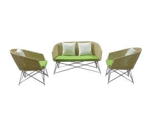 New Design Outdoor Furniture Sofa Set Garden Furniture Stainless Steel Sofa Set pictures & photos
