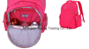 Red Mom Backpack Bag with Custom Size pictures & photos