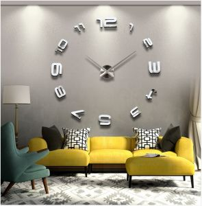 All Size Different Parrern Simple Modern Style Creative Clocks DIY Acrylic Stick Clock 3D Wall Posters Living Room Decor Crafts Wall Clock pictures & photos