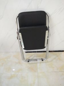 Folding Meeting Chair Office Chair with PU Leather pictures & photos