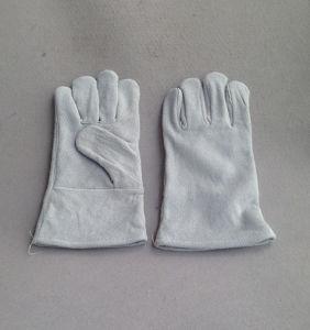 "12"" Cow Split Leather Mini Welding Glove Welder Working Glove (6504. WL) pictures & photos"