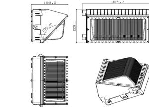 Die Casting Flood Light Tooling pictures & photos