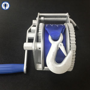 10: 1/5: 1/1: 1 2000lbs Webbing Strap Winch pictures & photos