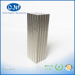 Mag 7 * 2mm N35 Grade Nickel Copper Nickel Coated Axial Magnetization pictures & photos