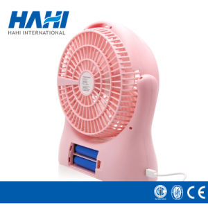 Rechargeable Fan Small Fan USB + Lithium Battery pictures & photos