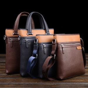 Leather Laptop Bag Men Briefcase pictures & photos