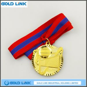 Casting Volleyball Medals Gold Medal Metal Crafts Promotion Gift pictures & photos