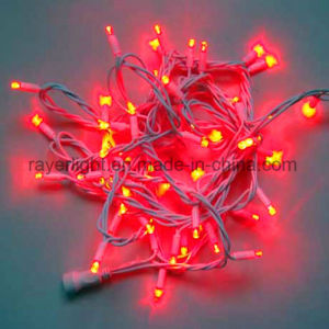 White Wire Connectable Decoration LED String Christmas Lights for Holiday pictures & photos