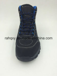 Leather Waterproof Sports Outdoor Safety Shoes (16101) pictures & photos
