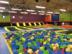 Large Jumping Park with Trampoline Mesh pictures & photos