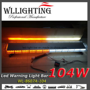 55 Inch 104 LED Emergency Warning Strobe Light Bar pictures & photos