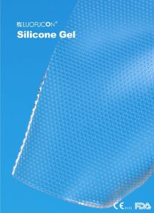 Ilicone Dermati Pad Silicone Chest Pad Scar Treatment Adhesive Breasts Silicon Gel Scar pictures & photos