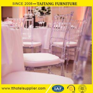 Modern Clear Plastic Chiavari Chair Tiffany Chair for Wedding pictures & photos
