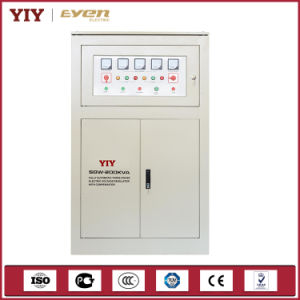 Single-Phase and Three-Phase Full-Automatic Compensated Voltage Stabilizer (SBW) pictures & photos