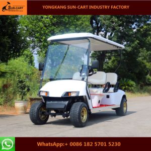 Customized 4 Seater Electric Vehicles Electric Golf Cart for Golf Course pictures & photos