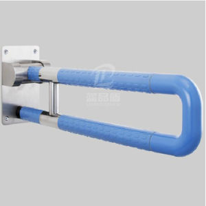 Safety Nylon Plastic Bathroom Handicap Folding Grab Bar pictures & photos