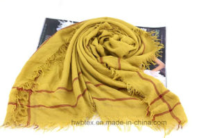 Top Quality Color Interwoven Fashion Lady Scarf (HWBL08) pictures & photos