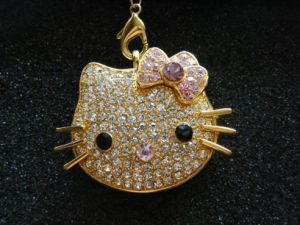 Jewellry USB Hello Kitty Promotion Gift Pen Drive Memory Stick pictures & photos