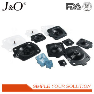 Santiary Pnumatic Diaphragm Valve with Plastic Actuator pictures & photos