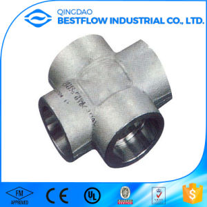 Cl3000 A105 Forged Steel Pipe Fitting pictures & photos