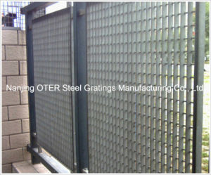 Hot DIP Galvanized Steel Grating Fence pictures & photos